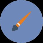 art, draw, drawing, design, brush svg icon