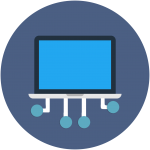 laptop, screen, computer, notebadook, technology svg icon